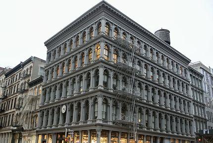 Cast-Iron buildings