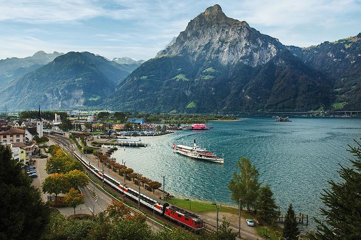 Gotthard Panorama Express : train et bateau, de Lucerne à Lugano