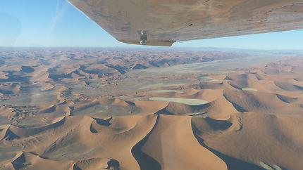 Les dunes vues du ciel
