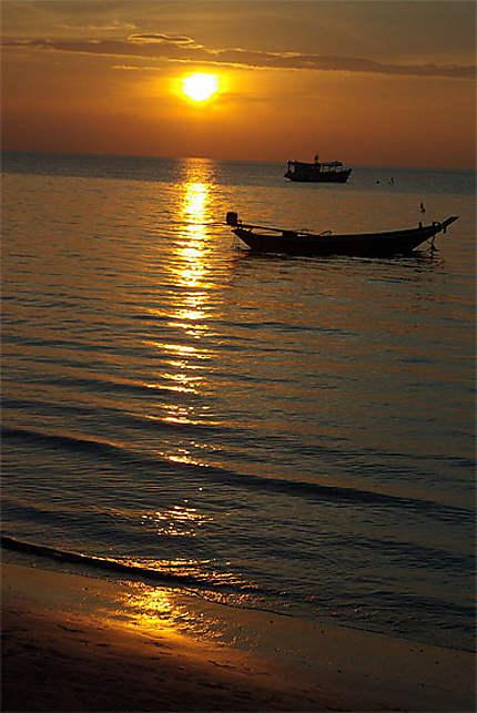 Sunset sur Koh Tao