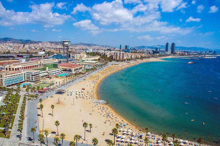 Barceloneta : Barcelone à la plage