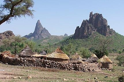 Rhumsiki dans le nord du Cameroun