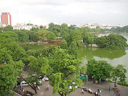 Le lac Hanoi
