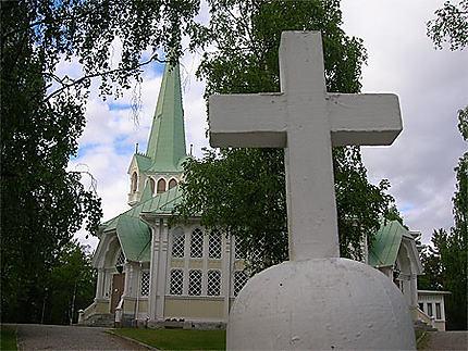 Eglise à Jokkmokk