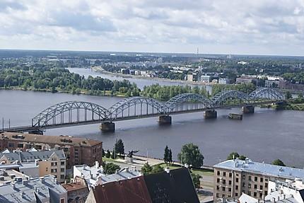 Riga : panorama de la ville