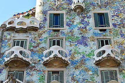Détails de la Casa Batlló
