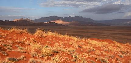 Soir sur le Namib
