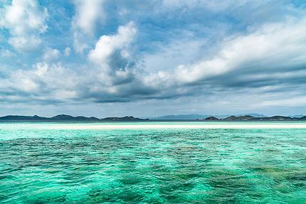 Langue de sable - Ditaytayan Island