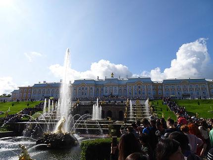 Superbe palais de Peterhof