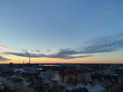 Vue sur Helsinki