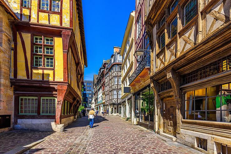 Le Vieux Rouen, au charme intact