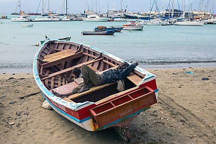 Dans le port de Mindelo