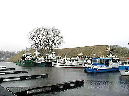 Petit port de pêche de Klaipeda