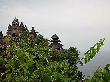 Le temple d'Uluwatu