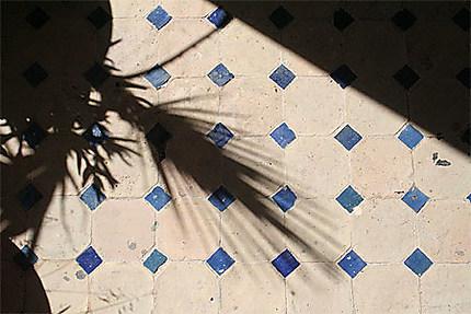 L'ombre carrelée