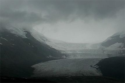 Menace sur le Glacier Athabasca...