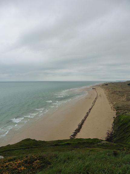 Ligne sur la plage