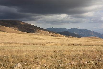 Montagnes au col de Selim