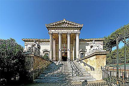 Photo inédite du palais de justice de Perpignan