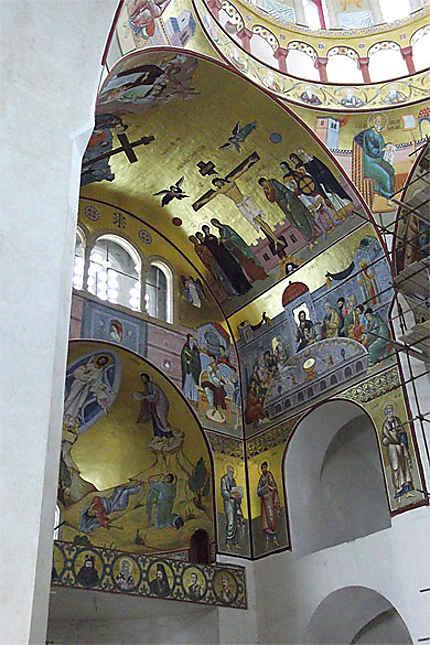 Saborni Hram Hristovog Vaskrsenja : fresques