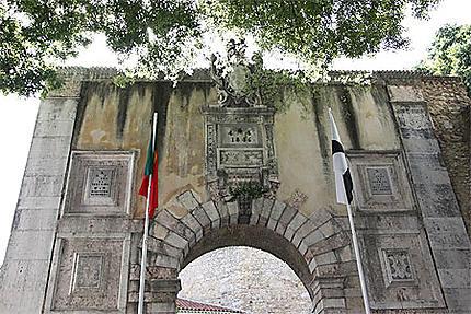 Entrée du Castelo Sao Jorge