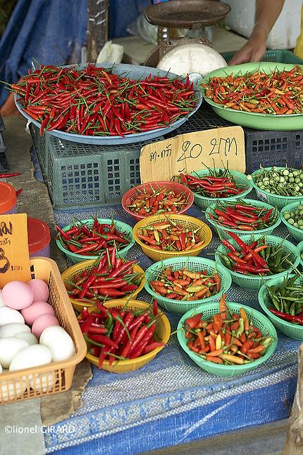 Chili at Rawai market
