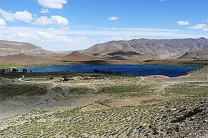 Le lac de Tislit