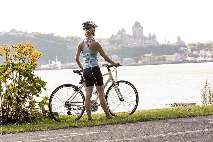Le vélo à Québec et à Montréal