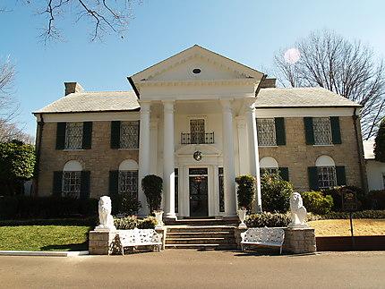 Entrée de la maison : Graceland