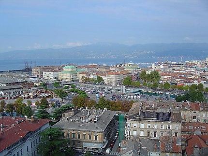 Rijeka : panorama de la ville