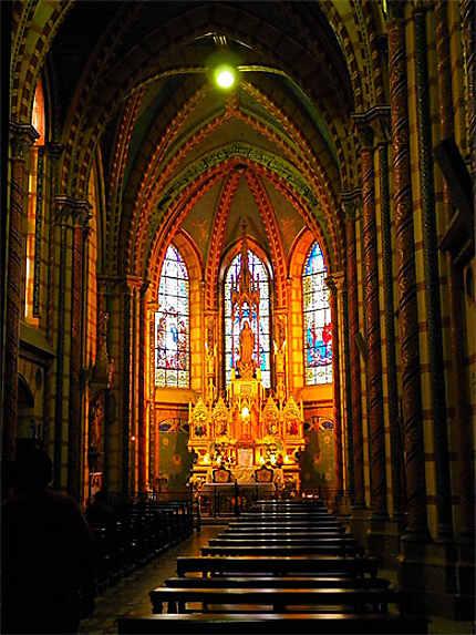 Chapelle absidiale de la basilique