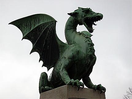 Dragon, symbole de Ljubljana