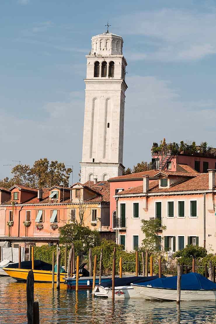 Le campanile de la basilique San Pietro di Castello