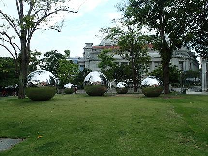 La partie de boules