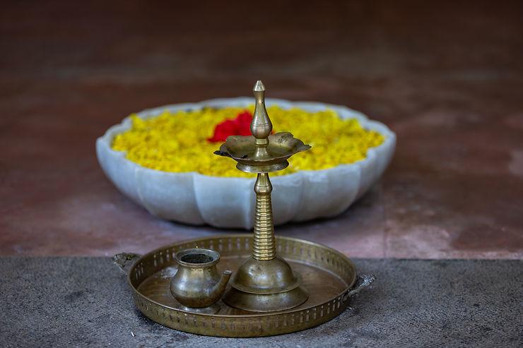 Sérénité en Inde