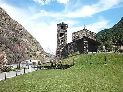 Sur la route d'Andorre la vieille
