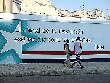 Mur - La havane - Cuba