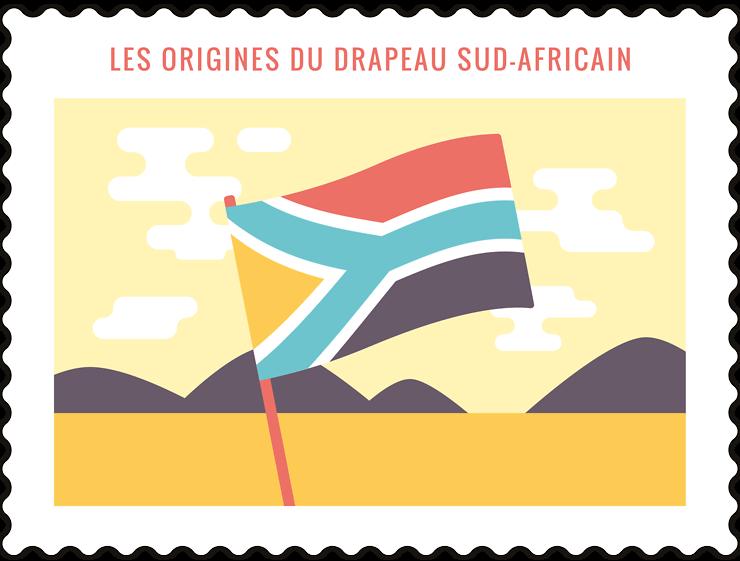 Les origines du drapeau sud-africain