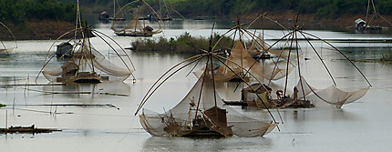 Pêcheurs sur le Mekong