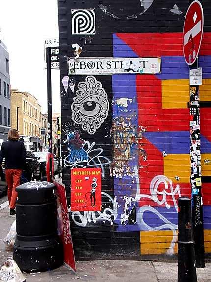 Street art à Shoreditch
