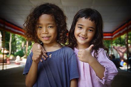 Enfants complices à Phnom Penh