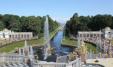 Château de Peterhof (environs de Saint-Pétersbourg)