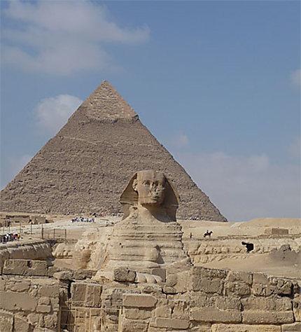 Pyramide de Képhren et Sphynx