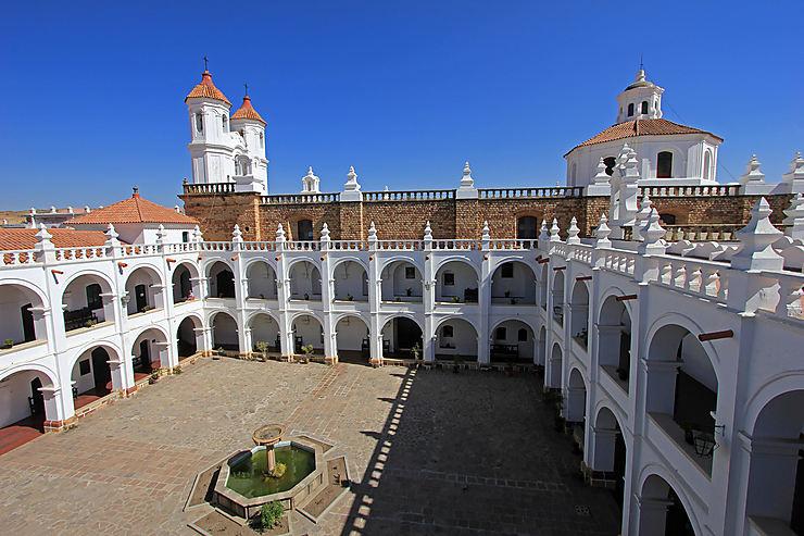 Sucre, le baroque des églises
