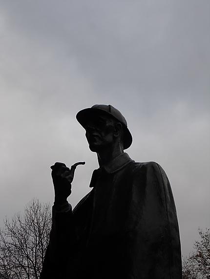 Statue de Sherlock Holmes
