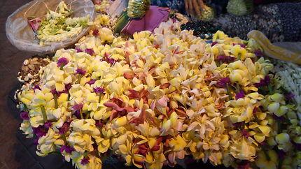 Colliers de fleurs