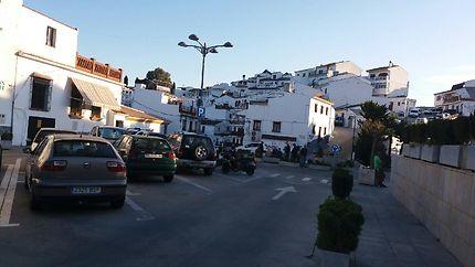 Vue du magnifique village de Almachar