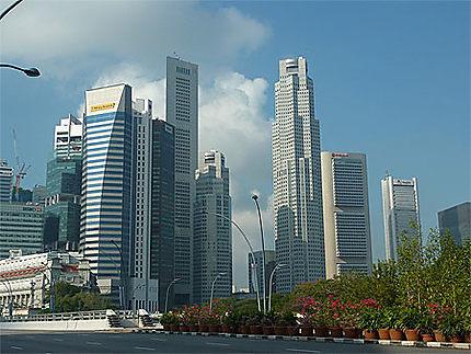 CBD of Singapour