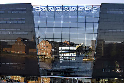Diamant Noir et reflets, bibliothèque de Copenhague -Copenhagen