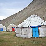 Yourtes Kirghizes à Tash Rabat